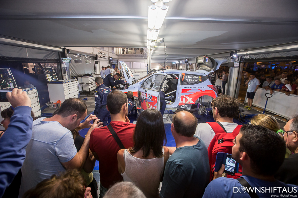 WRC competitors compete in Heat 2 of Rally d'italia Sardegna on stages East of Alghero.