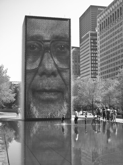 303/365 - Crown Fountain