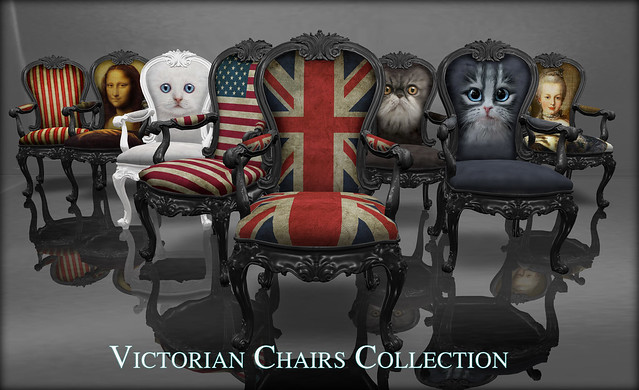 victorian chairs collection