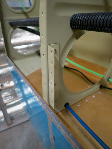 Pitot Doubler Support Bracket Riveted On