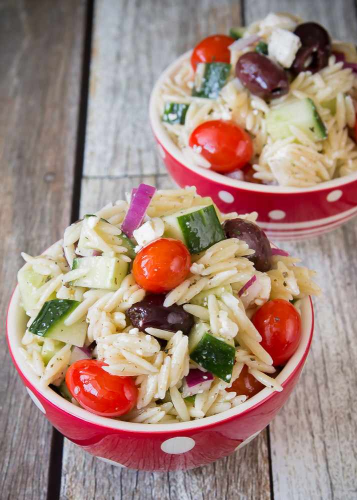 Good Seasons Greek Orzo Salad