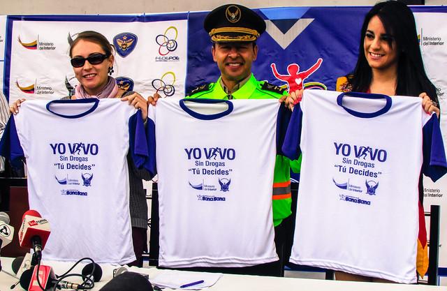 Azuay se suma a la carrera contra las drogas ministerio for Ministerio del interior policia nacional del ecuador
