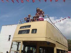 Saints 1976 Open Top Bus