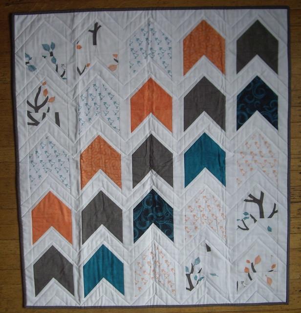 A's quilt