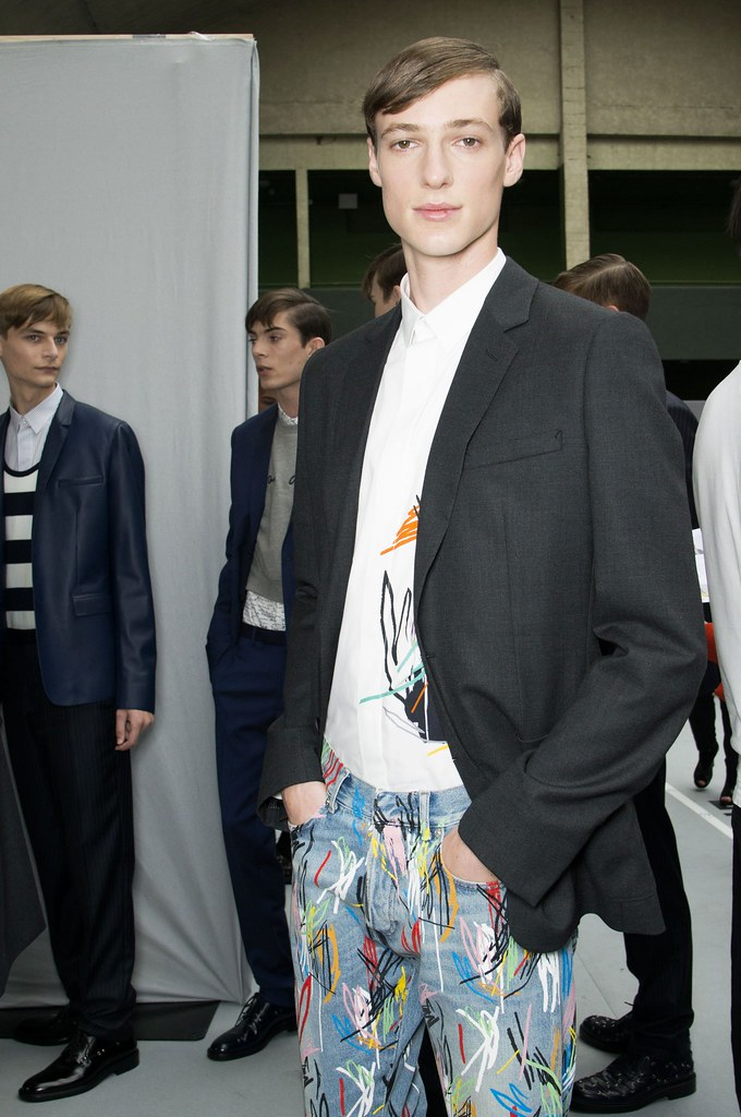 SS15 Paris Dior Homme248_John Meadows, Matthieu Gregoire, Tommaso de Benedictis(fashionising.com)