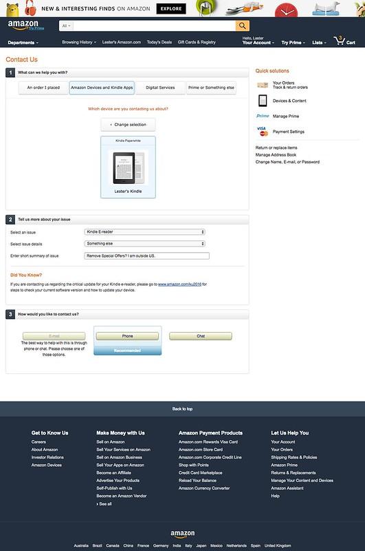 Amazon.com - Contact Us