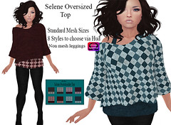 .Ecko. Selene Oversized Top _AD