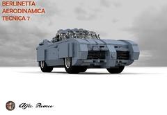 Alfa Romeo BAT7 (Berlinetta Aerodinamica Tecnica - Bertone 1954)