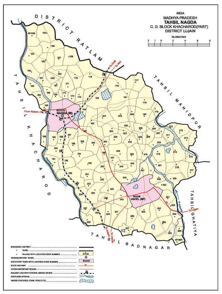 Ujjain India Map.Nagda Tehsil Ujjain District Madhya Pradesh India Flickr