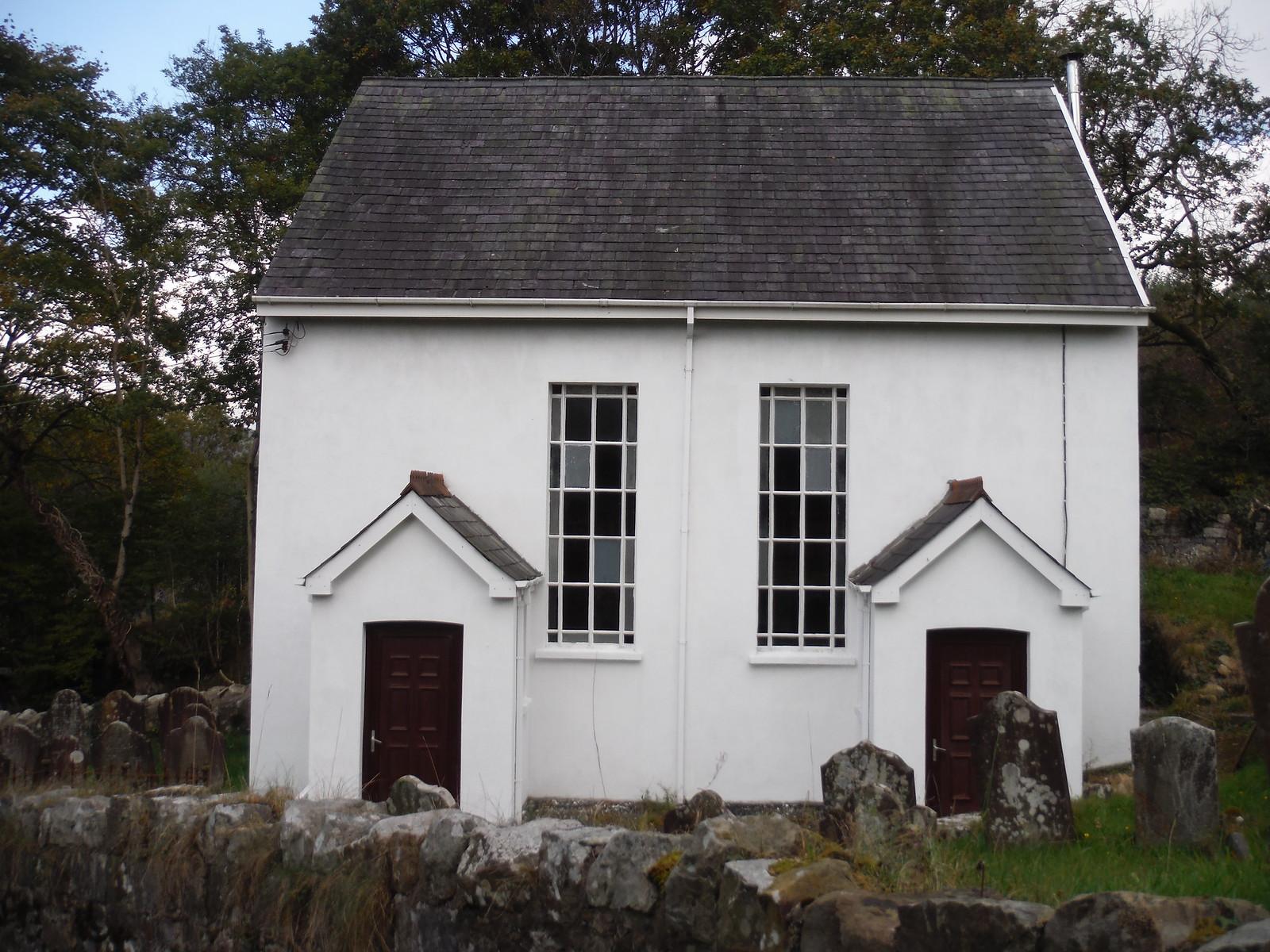 Converted Chapel near the Nant-y-ffin SWC Walk 280 Henrhyd Falls - Sgwd Henrhyd (Craig y Nos Circular)