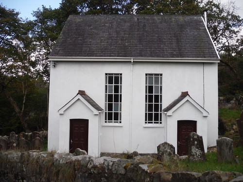 Converted Chapel near the Nant-y-ffin
