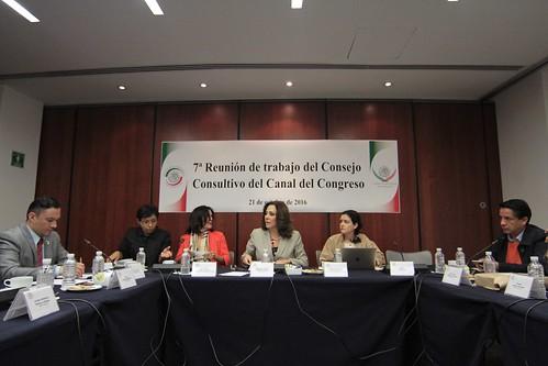7° reunión ordinaria del Consejo Consultivo del Canal del Congreso