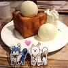 มากินของหวานกะย่า <3 #toukenranbu #afteryou #honeytoast #inu #samune #tsurumaru