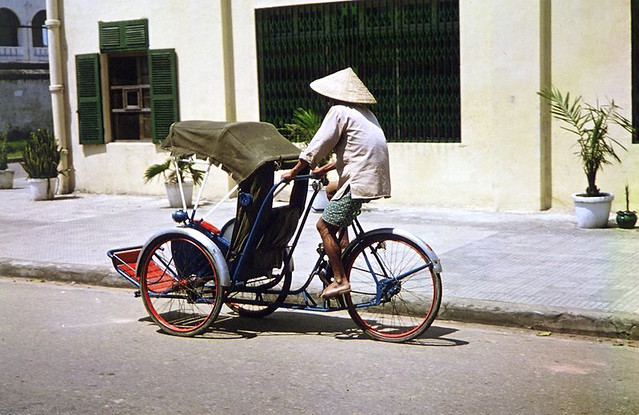 Cyclo - Da Nang - Photo by Ned Scheer