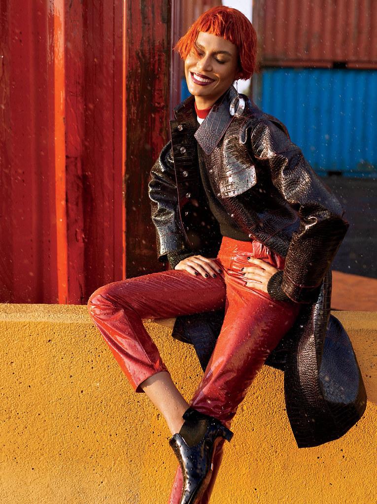 Джоан Смоллс — Фотосессия для «Glamour» 2016 – 5