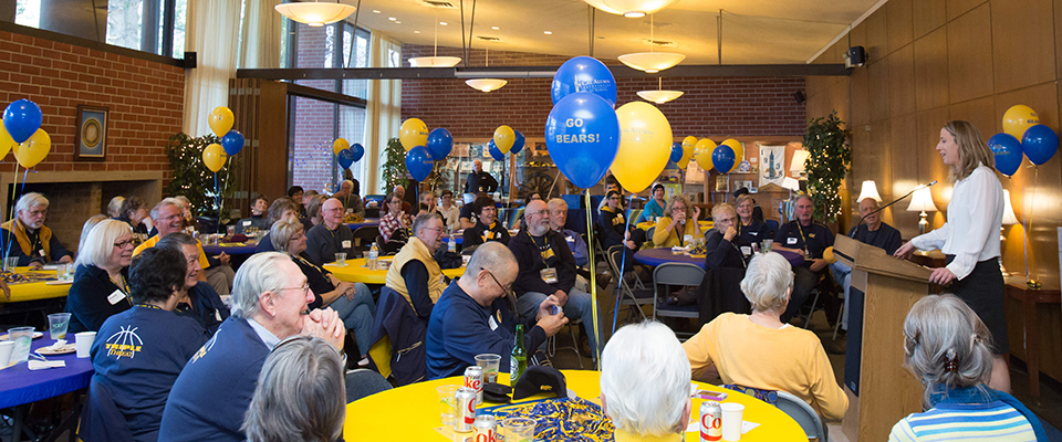 January 10, 2016 - 12:31pm - Jan. 10, 2016; Berkeley, California, USA; CAA Women's Hoops Party at Alumni House. Photo credit: Kelley L Cox - KLC fotos California Alumni Association