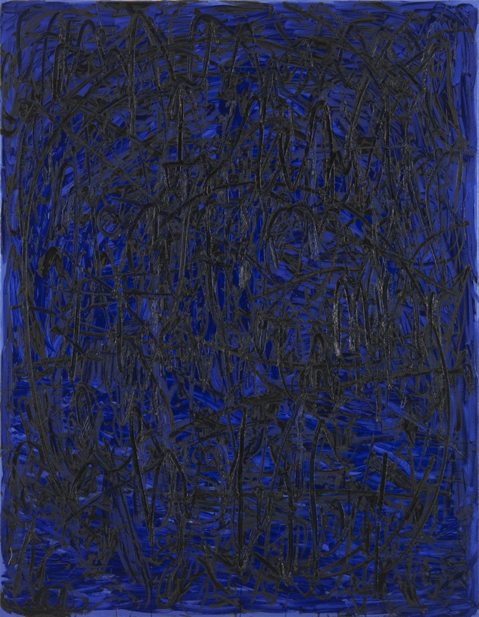 3 Jana Schröder, Spontacts, Ö2, 2012, 135 x 105 cm, Öl auf Leinwand