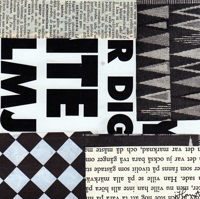 365 Collages | Week 29 – B/W again