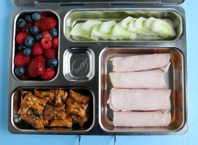 Preschool Turkey Roll-up Bento #480