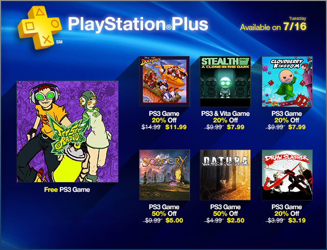 PlayStation Plus Update 7-16-2013