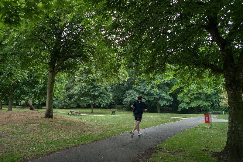 Meanwood Park - runner
