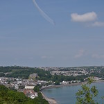 Flying over Oystermouth