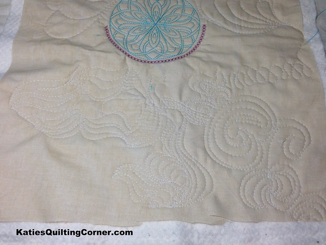 Quilting practice sample