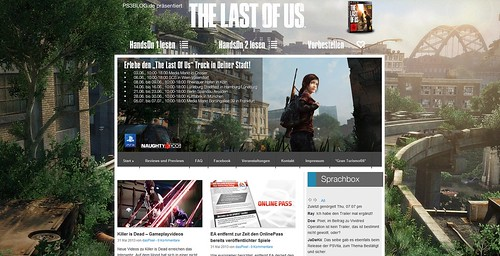 The last of Us PS3blog
