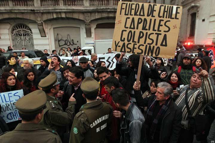 CHILE CAPRILES