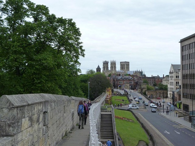 On the city wall