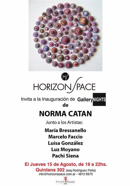 Gallery Nights / Norma Catan / Horizon Space
