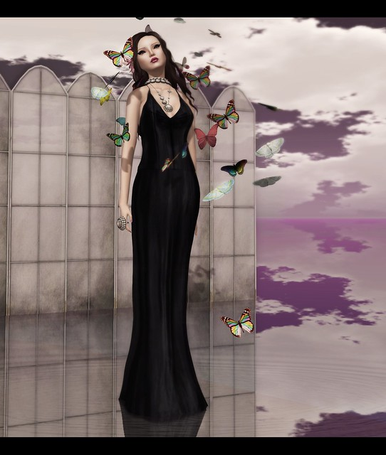 Baiastice_Giulia dress-black- [PXL] DIVA SpringTime makeup -  ~Tableau Vivant~ Larnia - Winter v2