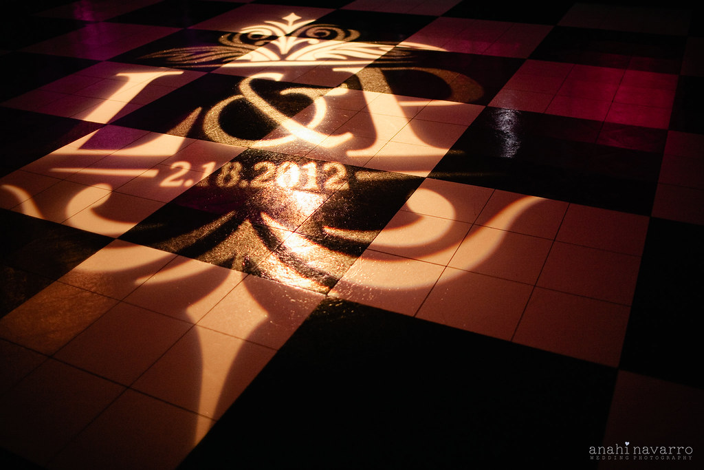 Monogram or Logo Projection Services by Intelligent Lighting