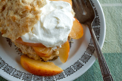 Gingery Fresh Peach Shortcakes