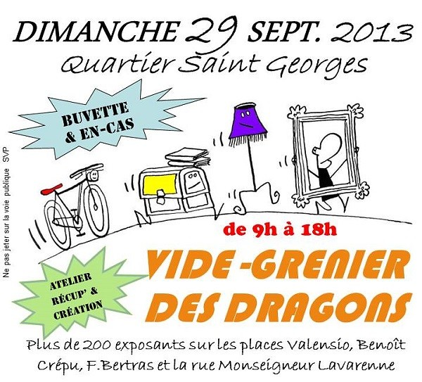 vide+grenier+dragons+StGeorges