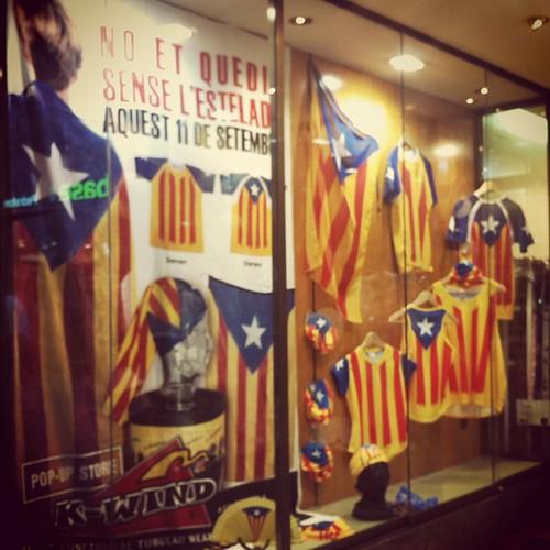 Aparador estelat #Catalunya #11s2013 #Diada #ViaCatalana #Independència #Estelada