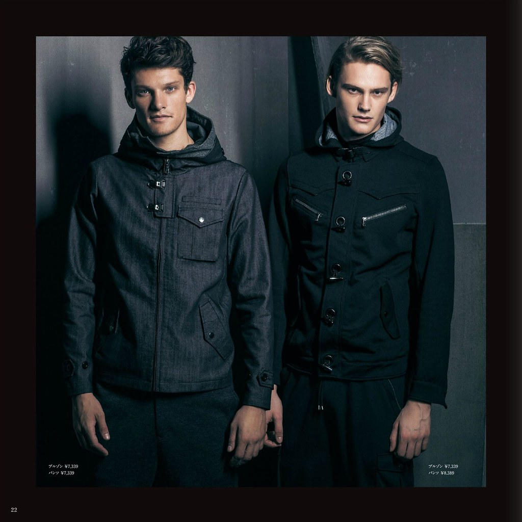 m.f.editorial Men's Autumn Collection 2013_001Danny Beauchamp, Kye D'arcy