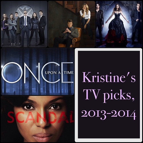 Kristine's TV picks, 2013-2014