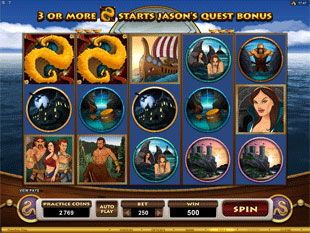 Jason and the Golden Fleece slot game online review