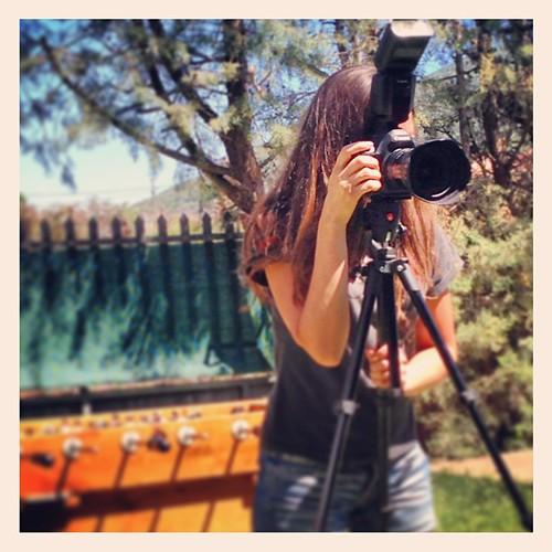Recordando finde #Ebentako #Bololandia @isabelherrerar en acción #seriefotógrafoscazados
