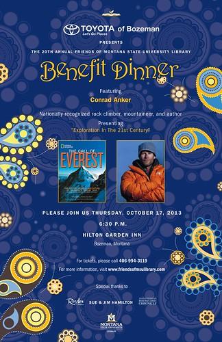 FOL Dinner 2013 Poster