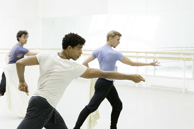 Carlos Acosta rehearsing for Don Quixote © ROH / Johan Persson 2013