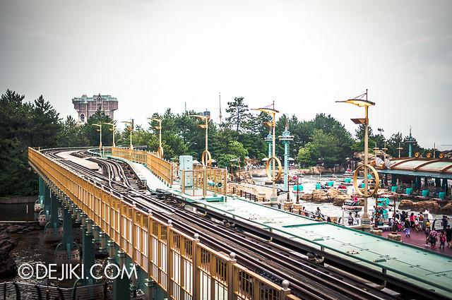 Tokyo DisneySea - Port Discovery - DisneySea Electrical Railway