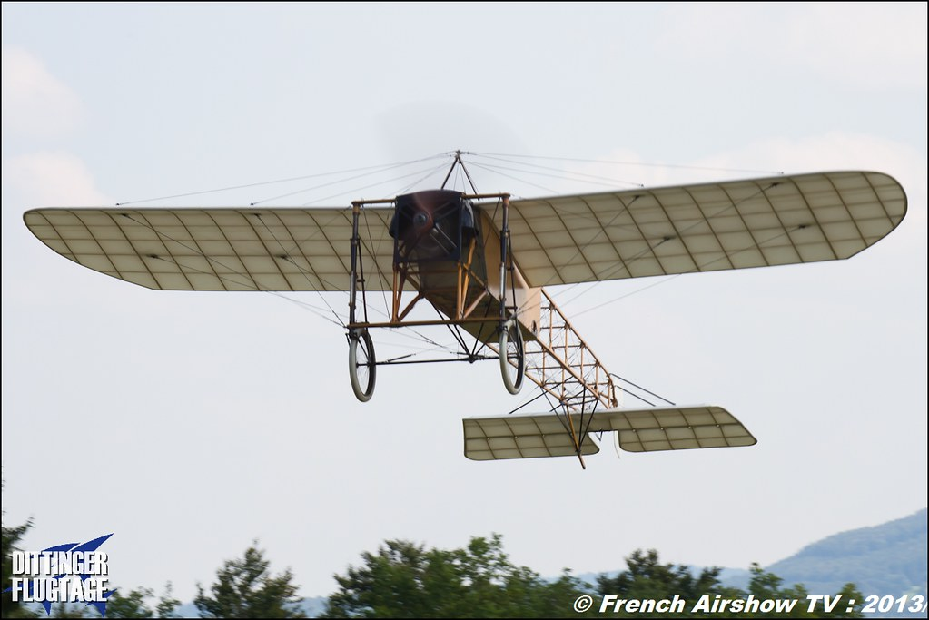 Bleriot XI , Dittinger Flugtage 2013