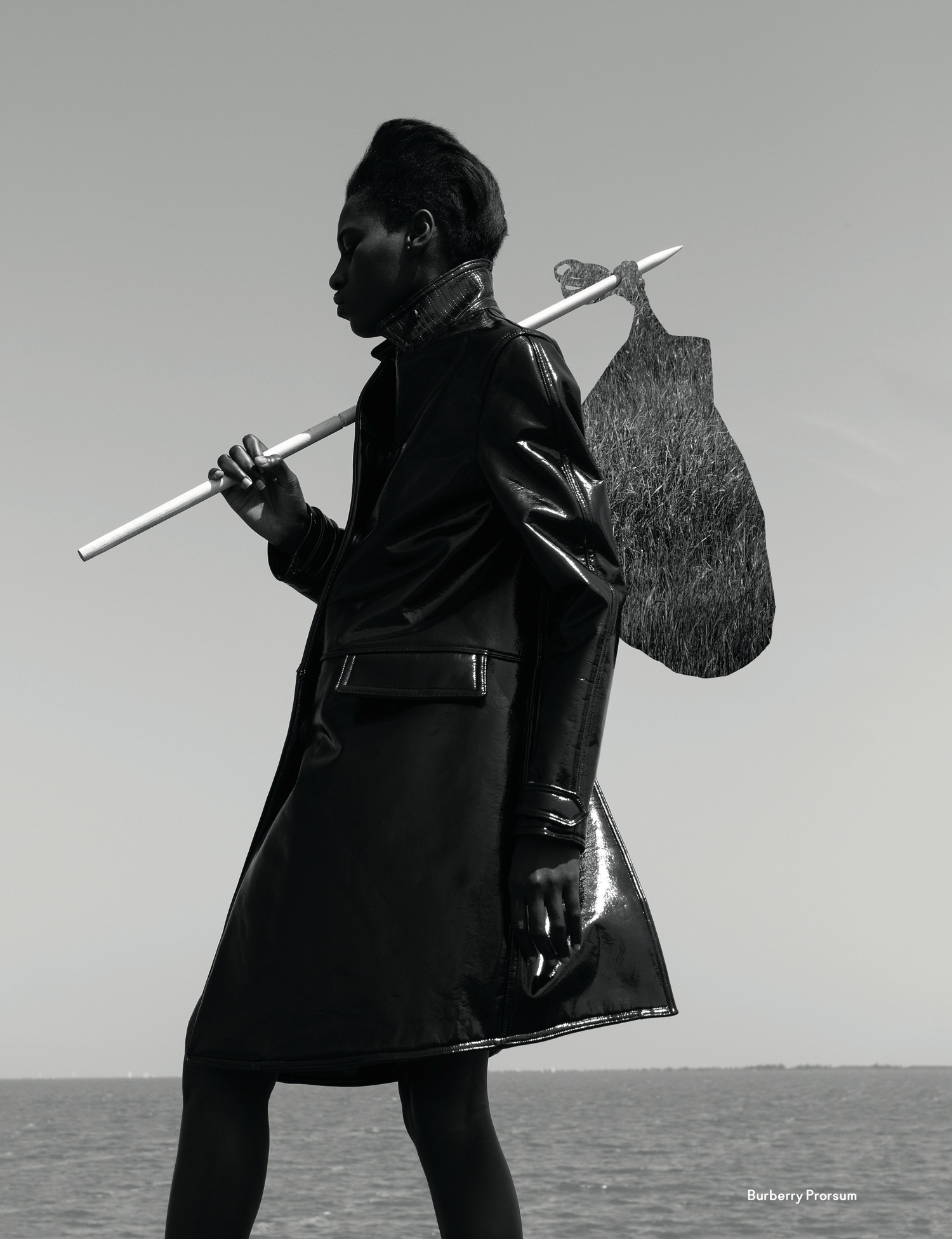 Kinée Diouf by Viviane Sassen (It's My Turn - AnOther Autumn-Winter 2013) 11