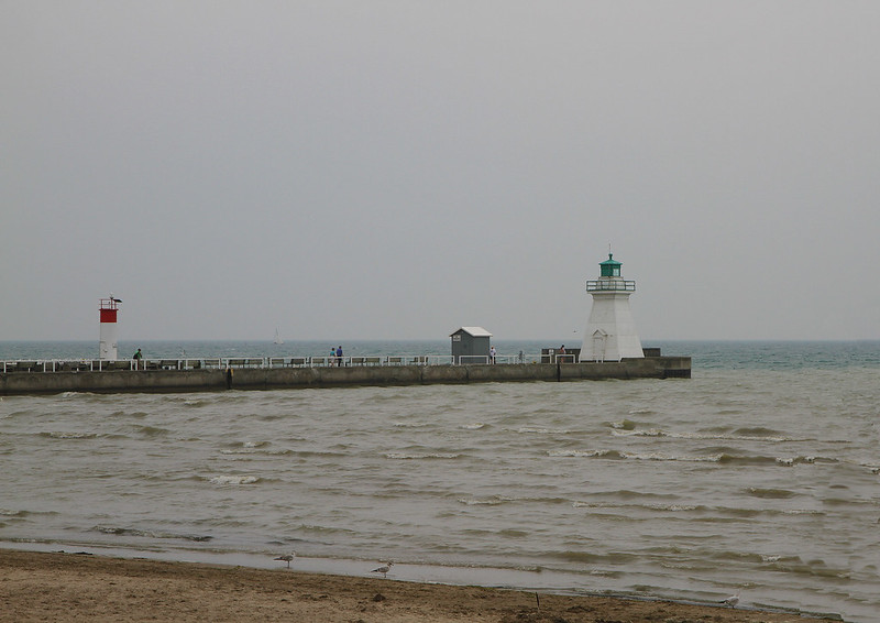 Port Dover Pier and Lighthouse