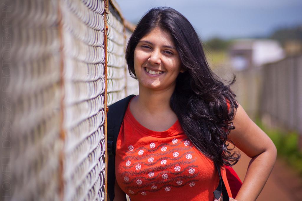 Priya at the Kaas Plateau