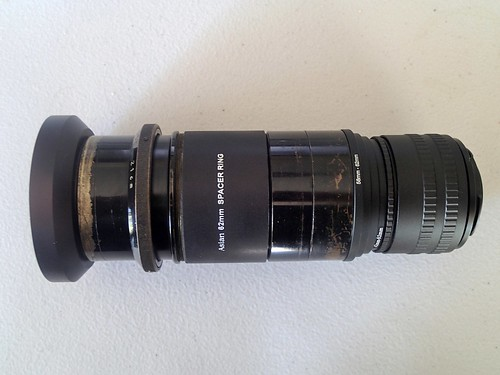 Hexar 21cm (s/n 35157) with adapters and focussing helical Nikon Mount