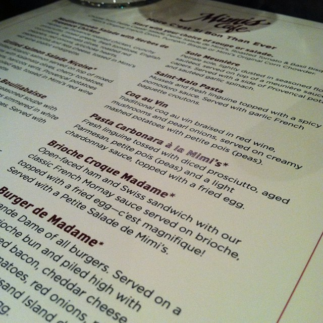 So excited to try #MimisNewMenu with Chef Katie Sutton! @mimis_cafe