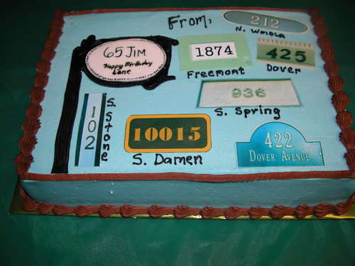 House Sign cake